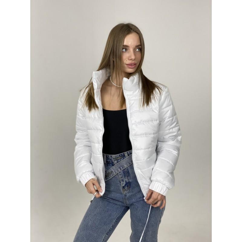Куртка стеганная оверсайз белая